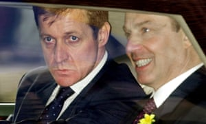 Alastair Campbell, left, and Tony Blair.