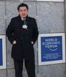 Alan Mak in Davos