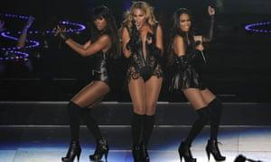Beyonce show at Super Bowl XLVII