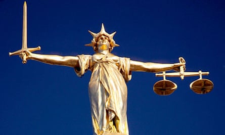 The Scales of Justice, Old Bailey