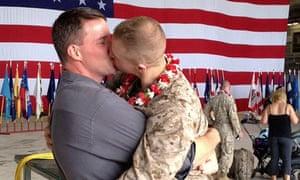 military gay benefits