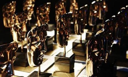 BAFTA masks backstage