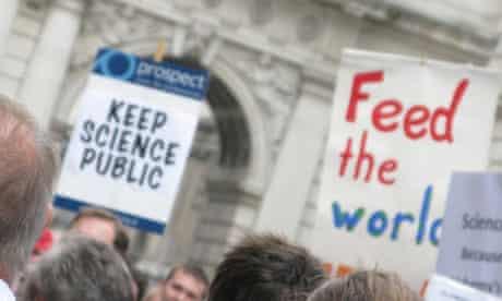 Science is Vital rally