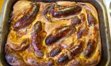 Delia Smith's toad in the hole.