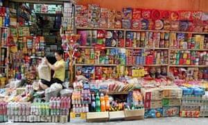 Vietnam street shop