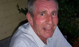 Ernie Ashford, who died at Stafford hospital in August 2008