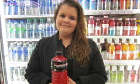 Sarah Kavanagh now campaigning to get BVO out of Powerade
