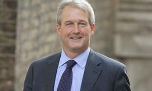 Owen Paterson, the environment secretary