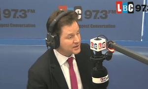Nick Clegg on LBC