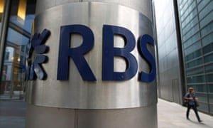 An office of Royal Bank of Scotland (RBS) in the City of London.