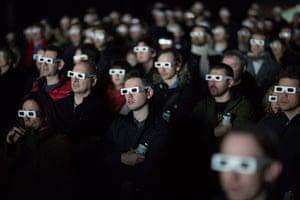 Kraftwerk: The audience in the Tate Modern's Turbine Hall