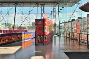 Art on the Underground: Who is Community?  New Cinema Kiosk, 2012