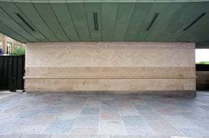 Art on the Underground: Sea Strata by John Maine, 2011, Green Park station