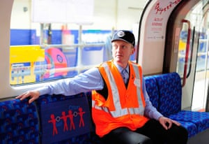 Art on the Underground: Acts of Kindness, Michael Landy, 2011, Central line series