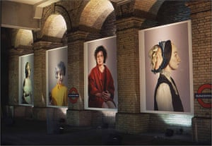 Art on the Underground: Billboard Commission, Cindy Sherman, 2003, Gloucester Road station