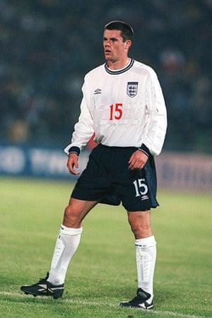 Jamie Carragher's career: Friendly - Hungary v England