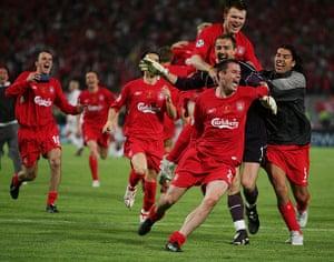 Jamie Carragher's career: UEFA Champions League Final - AC Milan v Liverpool