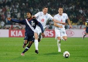 Jamie Carragher's career: England v USA: Group C - 2010 FIFA World Cup