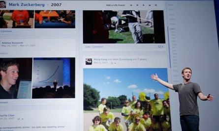 Mark Zuckerberg explains the Facebook timeline