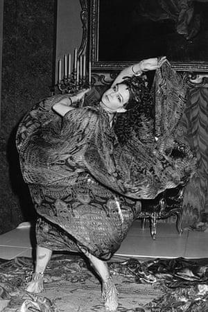 Ten best: Lyn Seymour rehearses Salome's dance