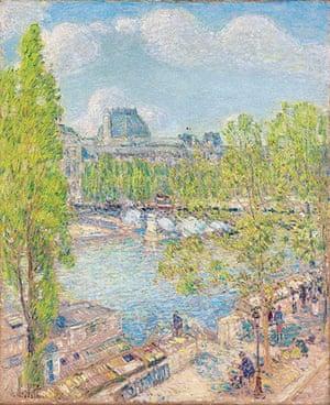 Ten best: April, Quai Voltaire, Paris by Frederick Childe Hassam