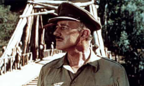 Alec Guinness, in The Bridge on the River Kwai
