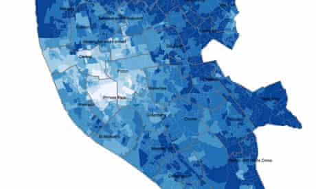 Census in Liverpool mapped by the Open Atlas project