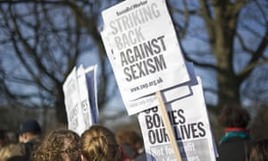 Protesters with Socialist Worker placards