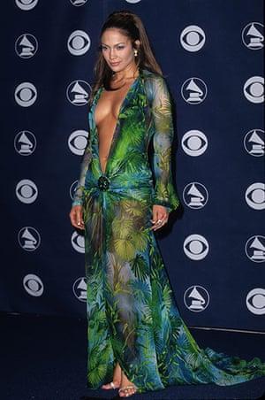 badly dressed GRammy's: Jennifer Lopez at the 42nd Grammy Awards