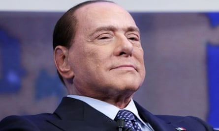 Just like a Madame Tussauds' exhibit: Silvio Berlusconi is seen during the Coffee Break talk show in Rome. He spoke of ex-girlfriend Nicole Minetti who was elected to legislature IX of the Regional Council of Lombardy, saying that it was a poor choice and it is difficult for beautiful women in politics.