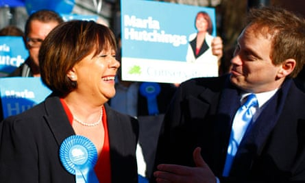 Maria Hutchings on the campaign trail in Eastleigh