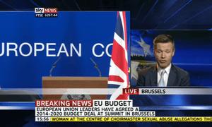 David Cameron press conference at EU summit