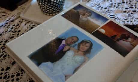 Alla and Uzi Altif's wedding album