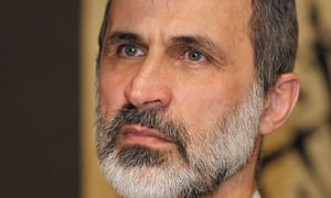 Moaz al-Khatib, the leader of the Syrian opposition coalition