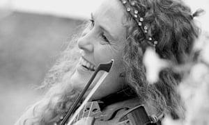 Violinist Frances Andrade