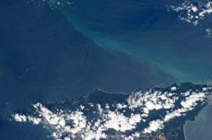Satellite Eye: Internal waves off Northern Trinidad