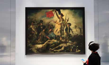 Eugene Delacroix's painting Liberty Leading the People
