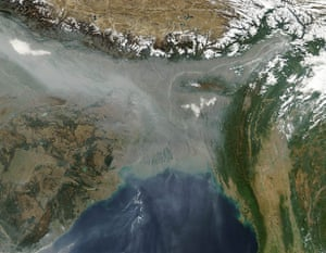 Satellite Eye: Haze hovered over the Indo-Gangetic Plain