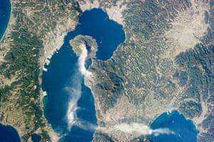 Satellite Eye: Sakurajima Volcano, Kyushu, Japan