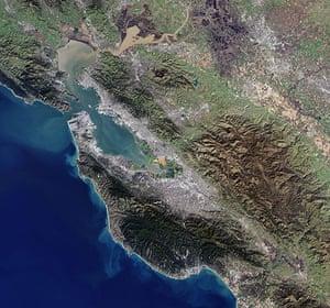 Satellite Eye: San Francisco Bay Area