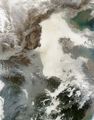 Satellite Eye: Air Quality Suffering in China