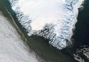 Satellite Eye: Greenland's east coast