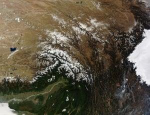 Satellite Eye: Tanggula Mountains