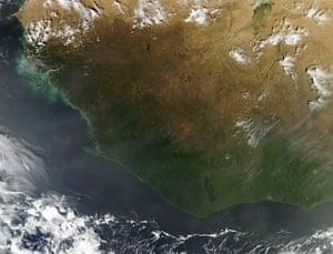 Satellite Eye: Fires in West Africa