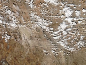 Satellite Eye: Dust Storm in Northern Mexico