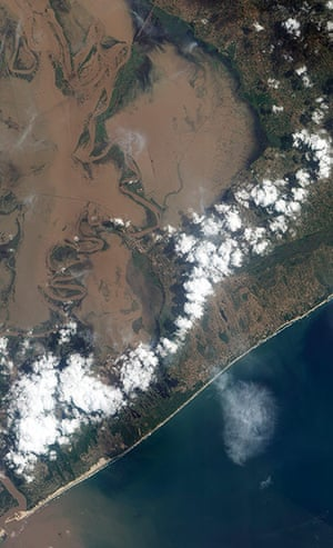 Satellite Eye: Flooding in Southern Africa