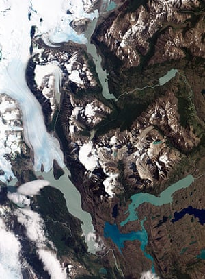 Satellite Eye: Chile's Torres del Paine National Park