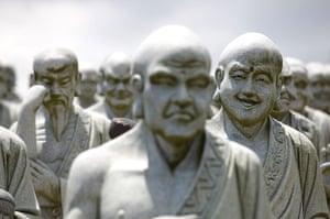 Lunar New Year: Buddha statues