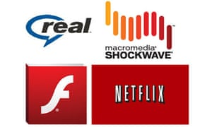 internet streaming real shockwave flash netflix