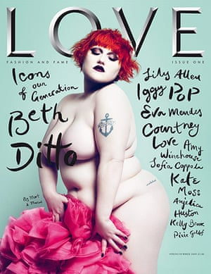 Magazine covers: Love magazine, launch issue, 2009